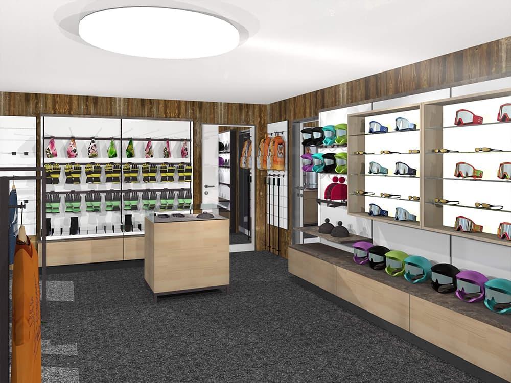 Ladenbau Sportgeschäft Schweiz