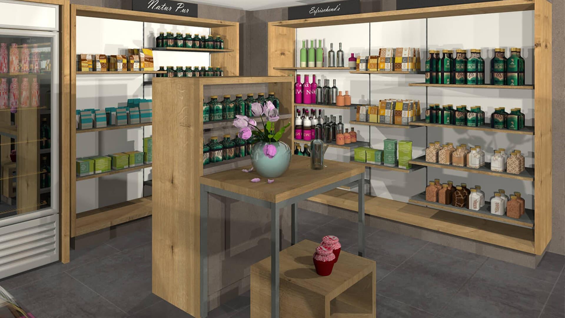 Lebensmittelgeschäft Ladenbau Vorarlberg