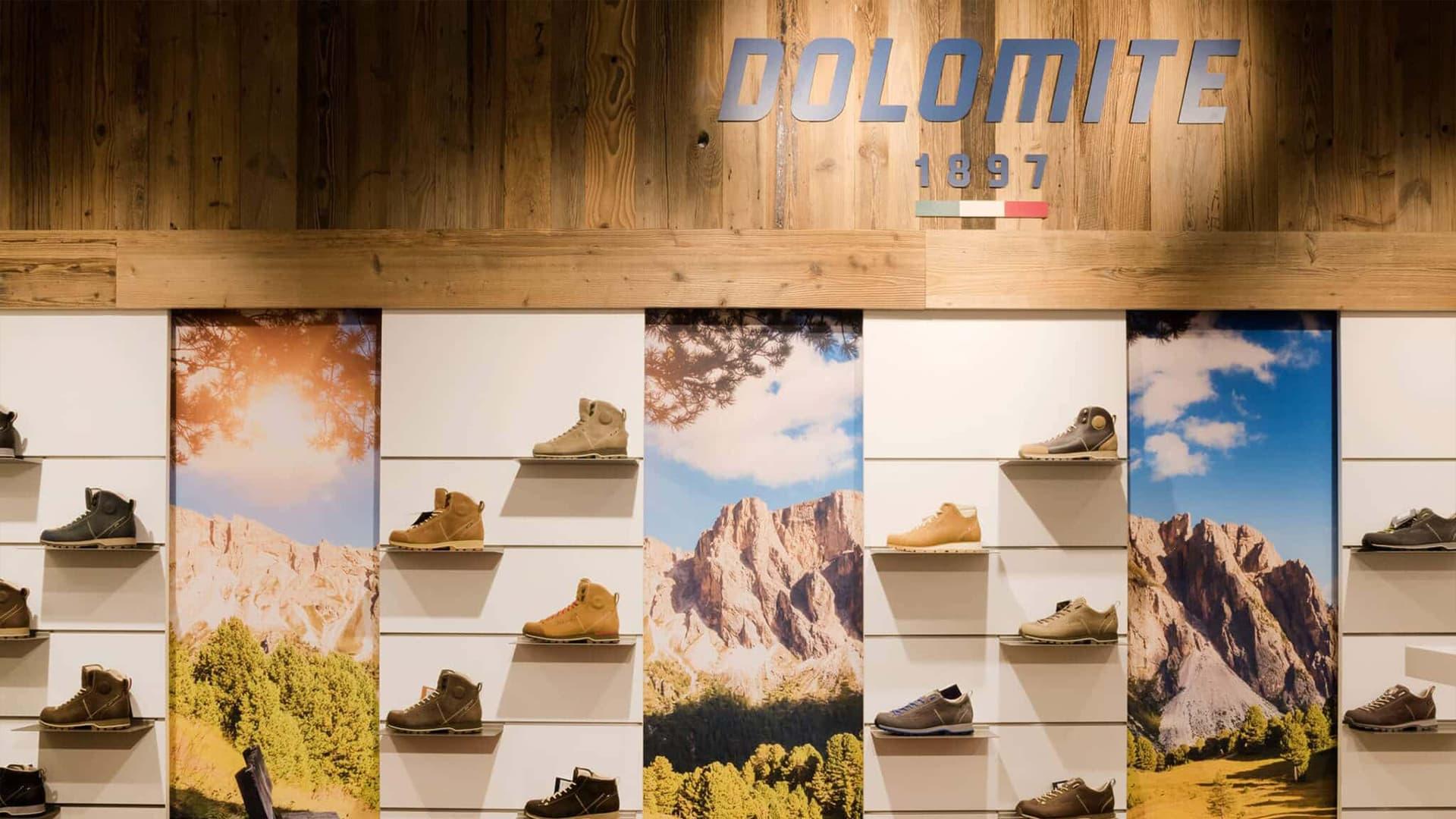 Ladenbau Schuhgeschäft Dolomite