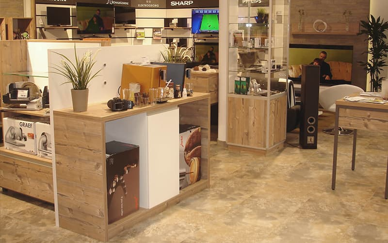 Ladenbau Elektrogeschäfte