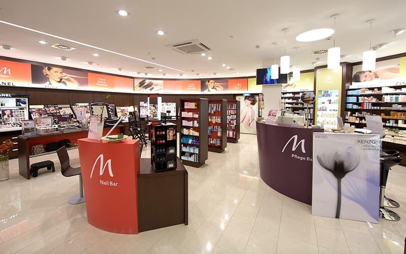 Ladenbau Kosmetikgeschäfte