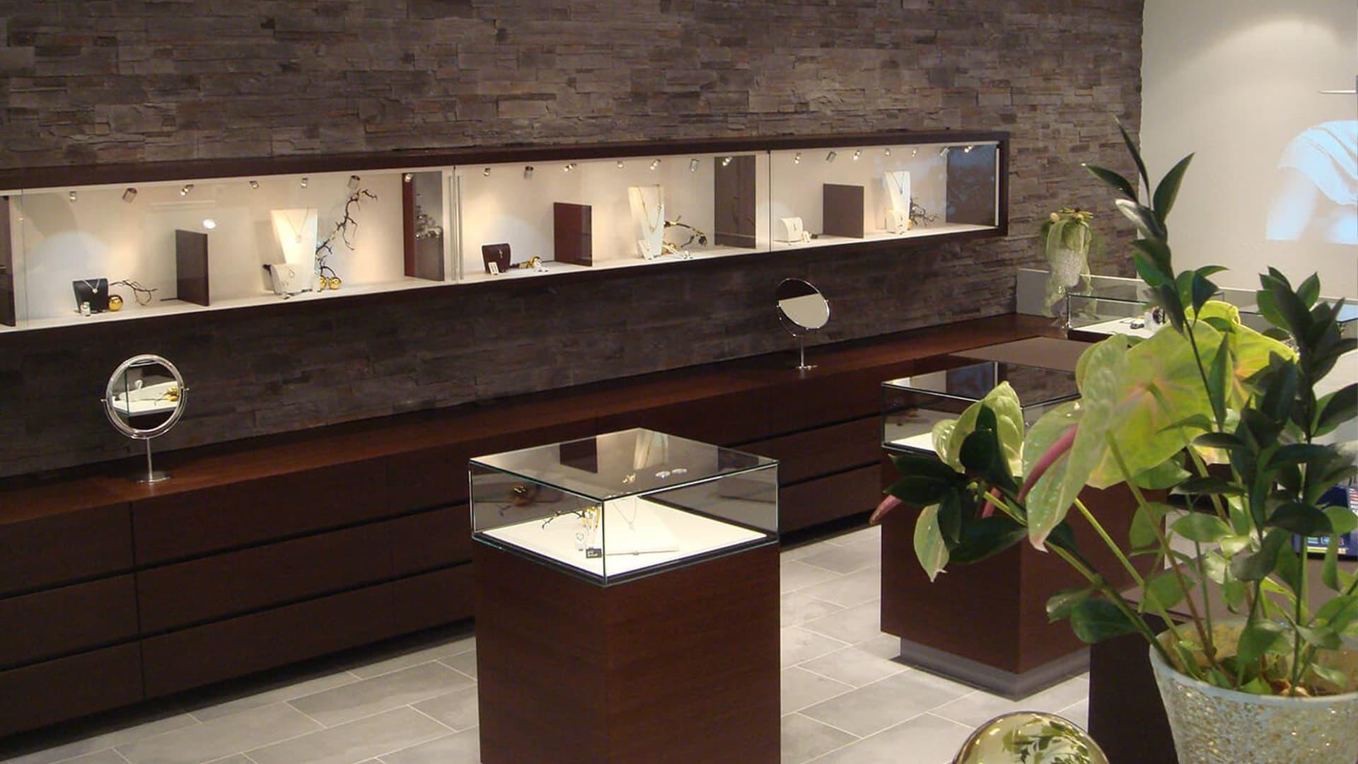 Juwelier Ladenbau