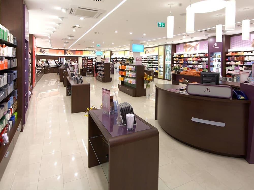 Ladenbau Kosmetik Wien